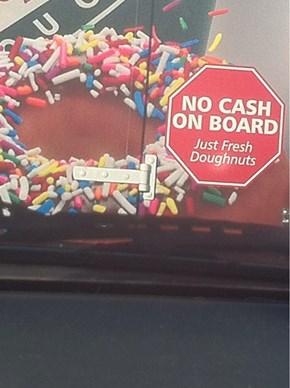 Not a Theft Deterrent