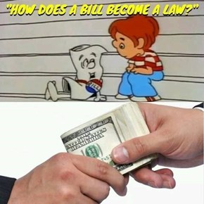 How Does a Bill Become a Law?