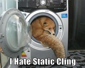 I Hate Static Cling