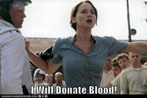 I Will Donate Blood!