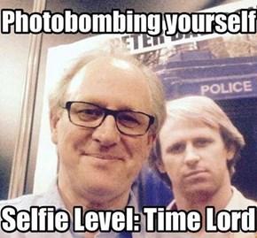 Timey Wimey Selfie Welfie