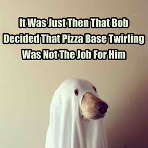 He Does Do A Great Pizza Ghost Dog Impression Though