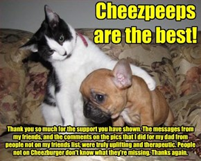 Cheezpeeps are the best!