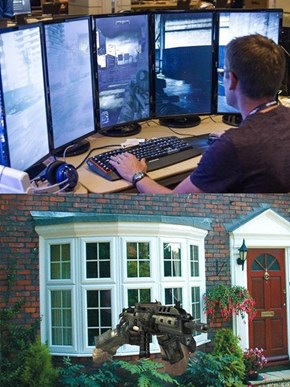 How This Gaming Setup Actually Feels