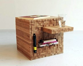 Part Jenga, Part Table, All Cool!