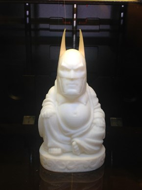 The Majestic, Serene Batman in 3D Printed Form