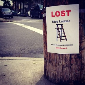 If Seen, Please Help Give a Leg Up