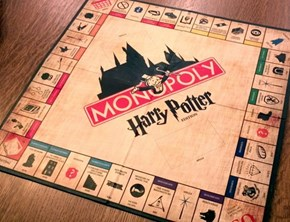 DIY Harry Potter Monopoly