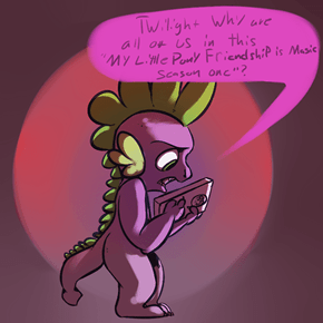 Spike Learns The Truth