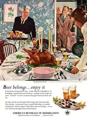 Beer Belongs at Thanksgiving