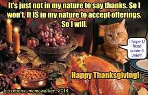 I Give Thanks For My Wonderful CheezFrenz!!