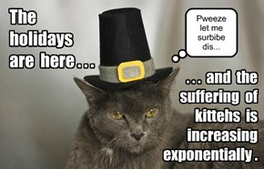 Costume-your-kitteh Disease is on the march...