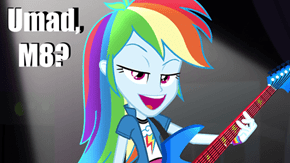 Rainbow Dash Have A Question