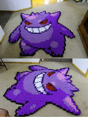Check Out This Awesome Gengar Blanket