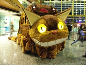 Amazing Catbus Cosplay