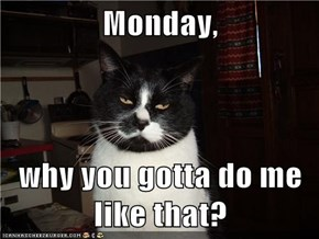 Not Cool Monday, Not Cool