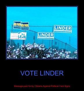 VOTE LINDER