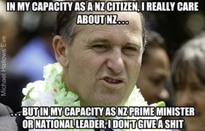 John Key - In ALL of his Capacity