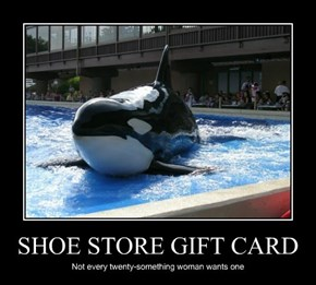 SHOE STORE GIFT CARD