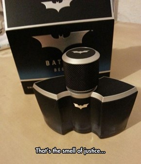 A New Fragrance From Gotham's Finest