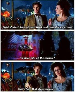 He's a TARDIS Expert