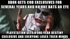 The War of Exclusives