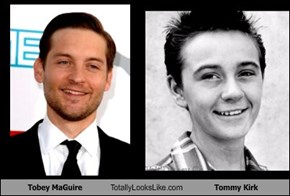 Tobey MaGuire Totally Looks Like Tommy Kirk