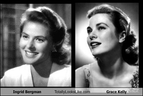 Ingrid Bergman Totally Looks Like Grace Kelly
