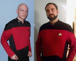 Before and After a Cancer Battle, One Man Has the Perfect Set of Halloween Costumes