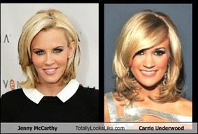 Jenny McCarthy Totally Looks Like Carrie Underwood