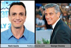Hank Azaria Totally Looks Like George Clooney