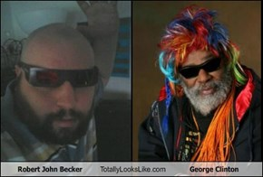 Robert John Becker  Totally Looks Like George Clinton