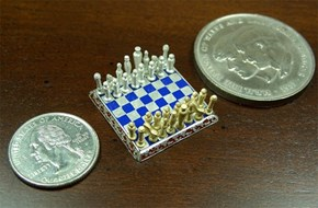 If You Have too Much Money to Spend, Feel Free to Pick Up the World's Smallest Chess Set