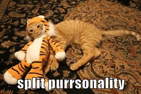 split purrsonality