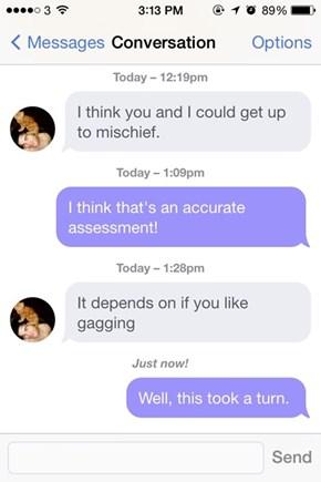 How Is That Mischief?