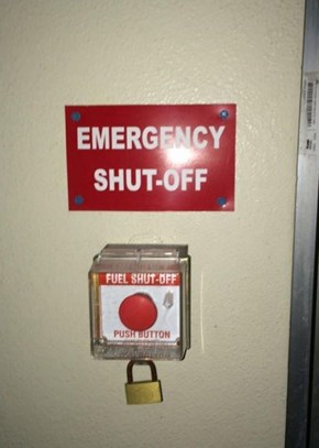 In Case of Emergency, Time is of the Essence