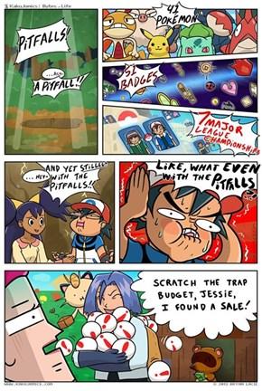 No Wonder Team Rocket Uses So Many Pitfalls