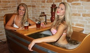 The Prague Beer Spa... Bathe in Beer!