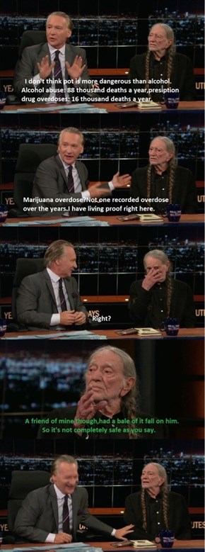 Willie Nelson Knows the Dangers of Marijuana