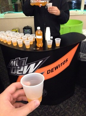 Rank Up Your Game... With Doritos Flavored Mountain Dew?!