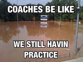 """The Words """"Day Off"""" Are Not Part of a Coach's Vocabulary"""