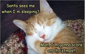 Cuz I Look Sa-weet When I'm Sleepin'