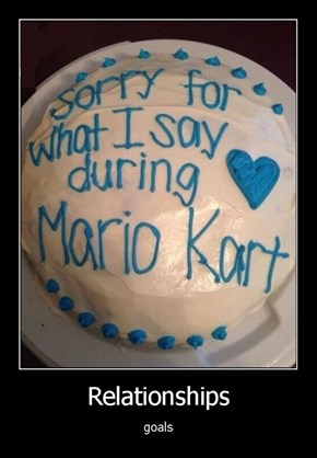 Mario Kart Is a Harsh Game