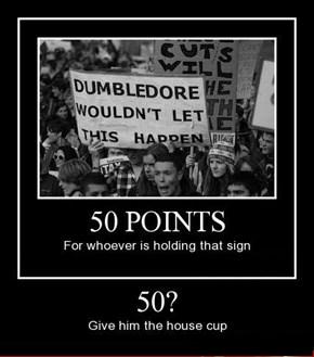 Hogwarts Protesting