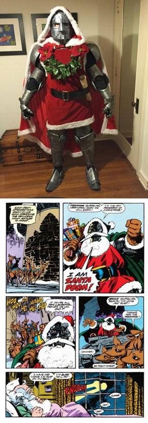 Santa Doom Isn't Bringing Presents