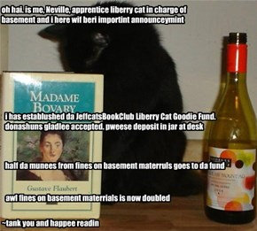 Liberry Cat Bulletin