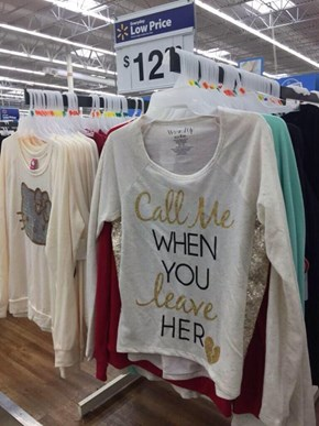 Walmart's Got All the Classy Cloes... Err... Clothes