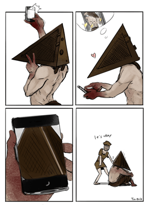 Pyramid Head Pls Stop