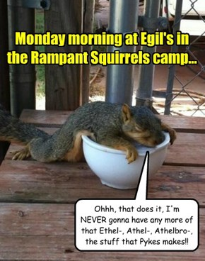 At Egil's each year, there are many parties, but the Rampant Squirrels are one of the few that REALLY know how to have fun...