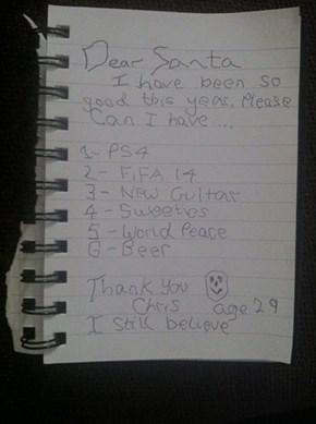 My Crismas Wihs Liste